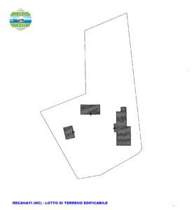 Recanati (MC) Lotto edificabile semi centro