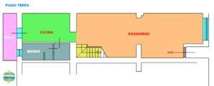 Appartamento cielo-terra Loreto centro