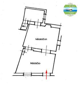 Recanati (MC) Locale commerciale in zona storica