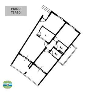 Porto Recanati (MC) Grande appartamento fronte mare