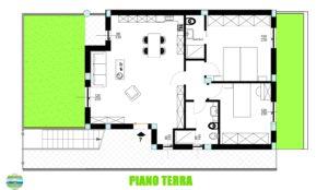 Polverigi (AN) Appartamento nuovo con giardino e garage