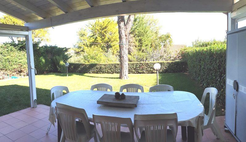 marcelli villetta a schiera con giardino vista mare
